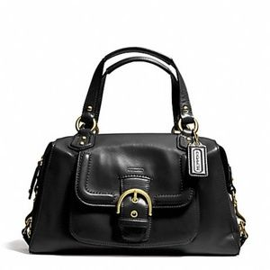 FINAL PRICE Coach Campbell Leather Convertible Bag